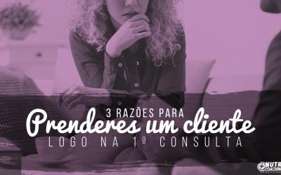 3 Razões para perderes um cliente logo na 1ª consulta